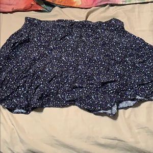 American Eagle women's floral skirt